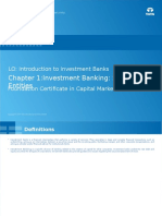 LO 1.1_Introduction to Investment Banks