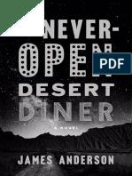 The Never-Open Desert Diner by James Anderson-excerpt