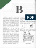 dictionar de arta (B)