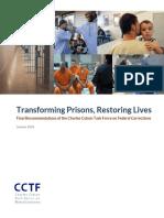 Transforming Prisons Restoring Lives