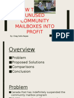How to Turn Unused Community Mailboxes Into Profit