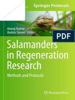 (Methods in Molecular Biology 1290) Anoop Kumar, András Simon (Eds.)-Salamanders in Regeneration Research_ Methods and Protocols