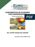 Manual de Economia Para Emprendedores