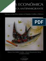 Introduccion-Crisis Económica y Políticas Antiinmigrante