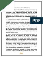 Monografía sobre LOS INCAS