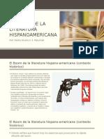 El Boom de La Literatura Hispanoamericana
