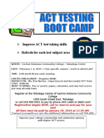 act bootcamp flyer feb