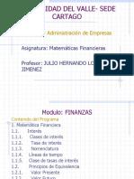 Matematica Financiera Primera Parte