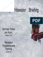 The November 2005 Trinity Whitewater Briefing