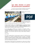 Los Retos Que Debe Afrontar El Sector Agroexportador Peruano Para Consolidarse