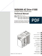 Manual Yaskawa v1000