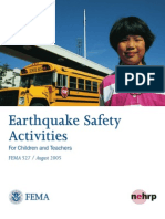 FEMA - Earthquake Safety Activities for Children and Teachers