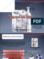 Produccion de Acido Sulfurico- Animaciones. Expo