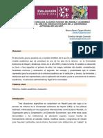 PONENCIALA REFORMA INCONCLUSA. ALGUNOS RASGOS DEL MODELO ACADÉMICO DE LA REFORMA EN EL ÁREA DE CIENCIAS SOCIALES DE LA UNIVERSIDAD AUTÓNOMA DE NAYARIT.