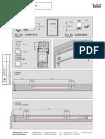 055757 45532 1109 BZ Mounting Instruction (Fixings for G96 N20 EMF GSR)