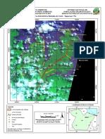 Mapa da  Reserva Extrativista Marinha de Caeté - Taperaçu / PA