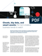 Clouds Big Data and Smart Assets Ten Tech-Enabled Business Trends to Watch