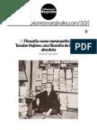 Filosofía Como Metanoética de Tanabe Hajime, Una Filosofía de La Nada Absoluta _ Reflexiones Marginales