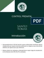 Clase 1 Control Prenatal