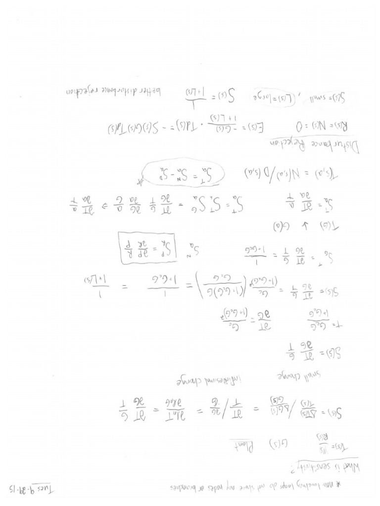 Feedback Control of Dynamic Systems (6th) and MEC 411 Notes