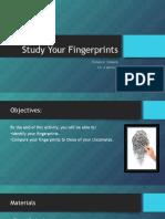 study your fingerprints