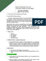 2010-04-12 Council Agenda Session