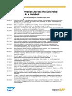 OpenSAP Escm1 Transcript