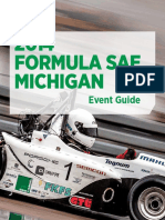 Formula SAE Michigan 2014 Program