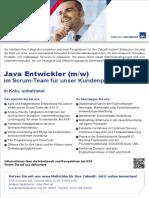 Java Entwickler Scrum