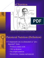 Parenteral Nutrition powerpoint