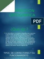 CORRECCION ORTOGRAFICA