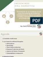 Penchyna - Encuentros Reforma Energética