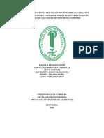 Analisis de La Influencia Del Día Sin Moto Sobre La Variación de Los Niveles de Ruido Causados Por El Flujo Vehicular en La Comuna 5 de La Ciudad de Montería
