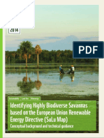 Identifying Highly Biodiverse Savannas based on the European Union Renewable Energy Directive (SuLu Map) Conceptual background and technical guidance