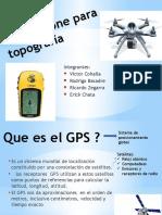 GPS y Drone Para Topografía