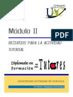 Manual Del Módulo II de Tutorías Por Actividad
