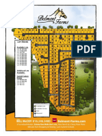 Belmont Farms Community Map