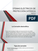 3-Sistemas Eléctricos de Protección Catódica Ppt