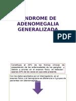 Sindrome de Adenomegalia Generalizada