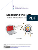Measuring the Hate: The State of Antisemitism in Social Media