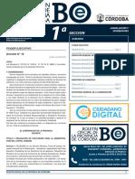 Boletín Oficial Córdoba