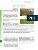Green Roof Irrigation