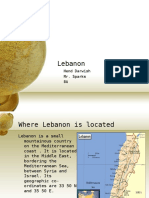 Lebanon- Story behind History