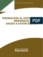 Promocion Al Exportador Drawback