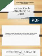 Clasificación de Estructuras de Datos