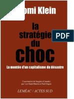 Klein, Naomi - La Strat_gie Du Choc