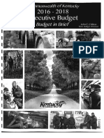 2016-2018 Executive Budget