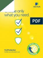MyProtector AVIVA Brochure