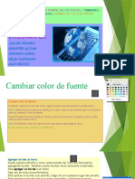 Cambiar Color de Fuente