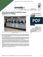 Prevé Morena Rebasar 29 Mil Firmas Contra Reglamento de Tránsito — La Jornada